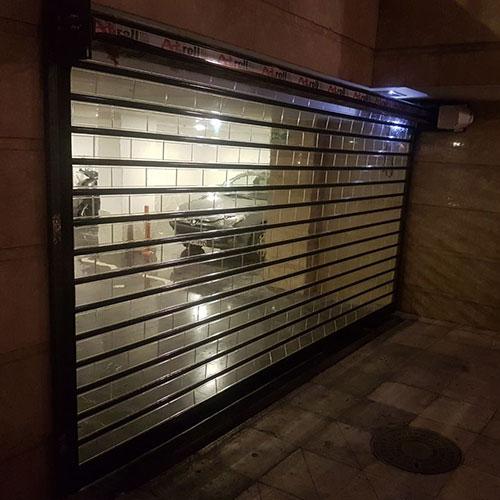نصب درب اتوماتیک شیشه ای